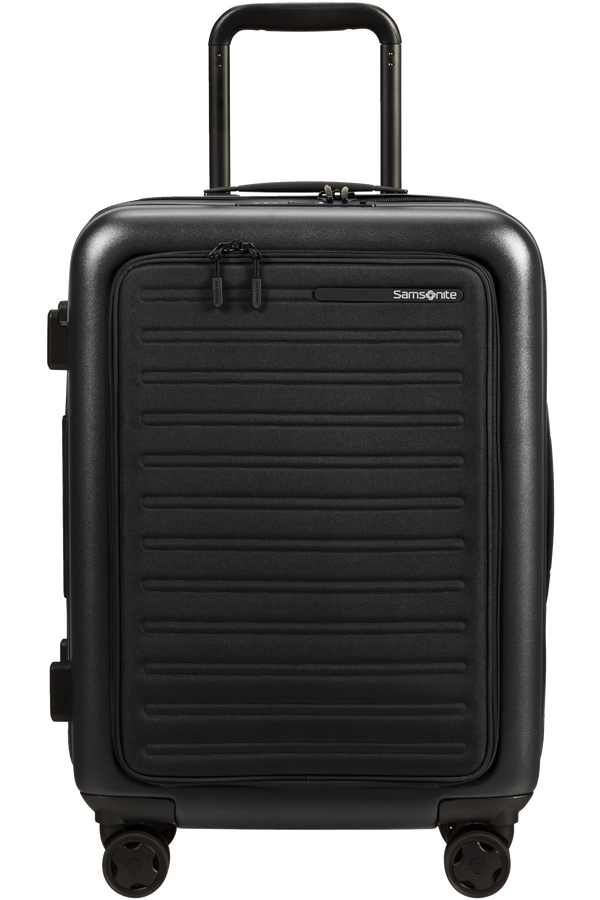 Samsonite Stackd Spinner Expandable Easy Access 55cm  Zwart