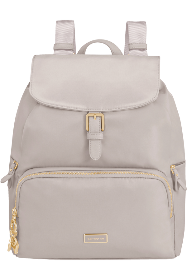 Samsonite Karissa 2.0 Backpack 3 Pockets 1 Buckle  Iced Lilac