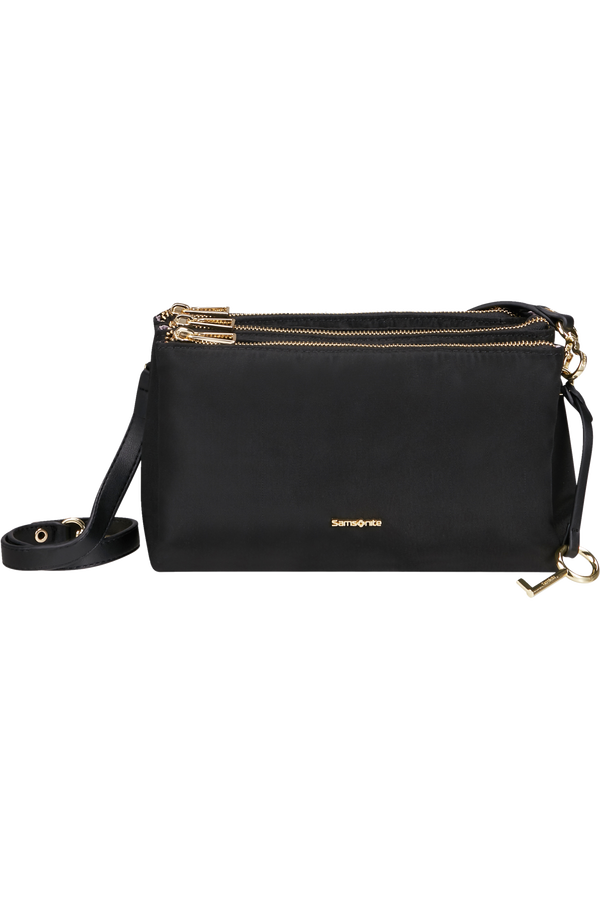 Samsonite Skyler Pro Horizontal Shoulder Bag 3 Comp S  Zwart