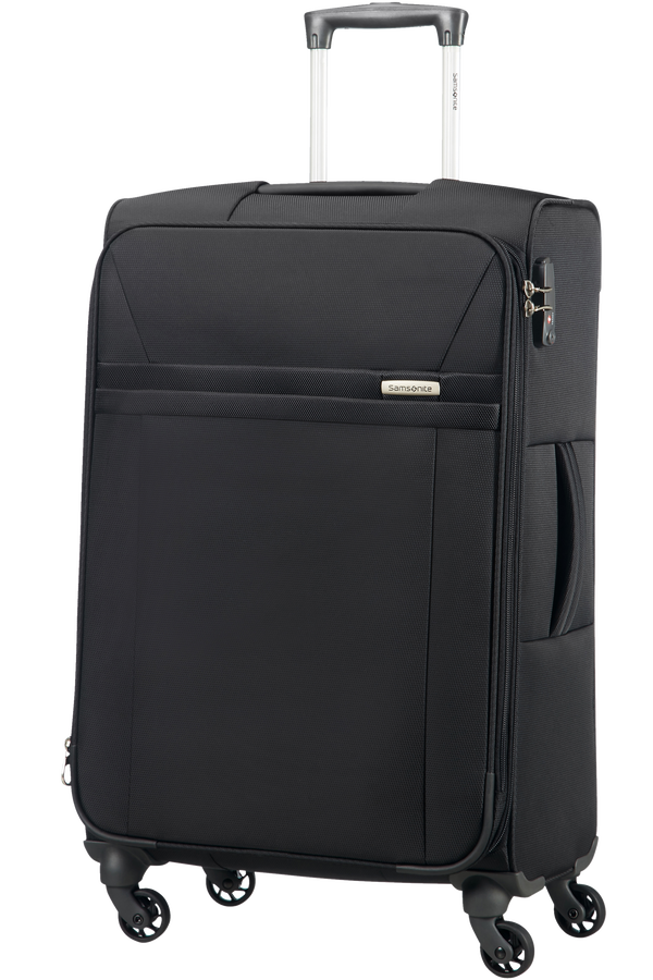 Samsonite Astero Spinner Expandable M  Zwart