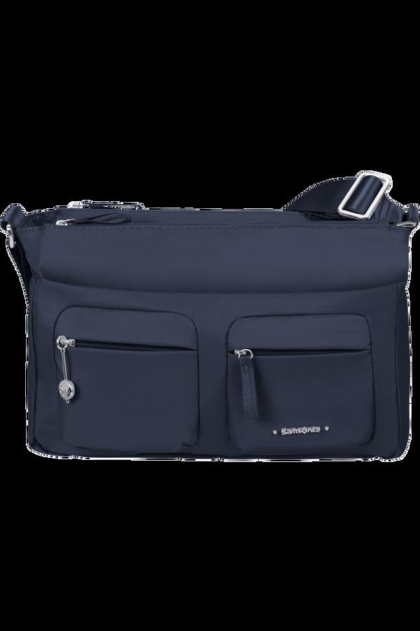Samsonite Move 3.0 Horiz Shoulder Bag + Flap  Dark Blue