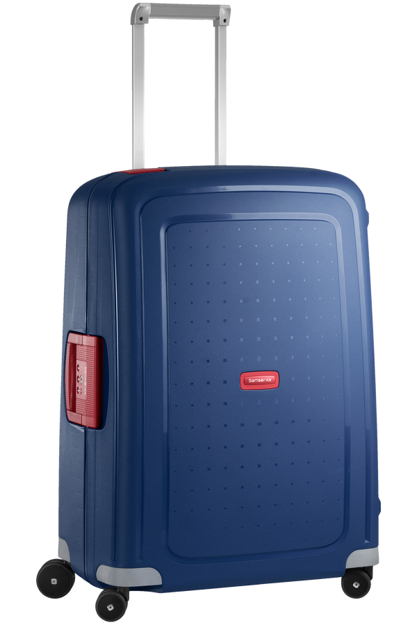 Samsonite S'Cure Spinner 69cm Dark Blue/Crimson Red