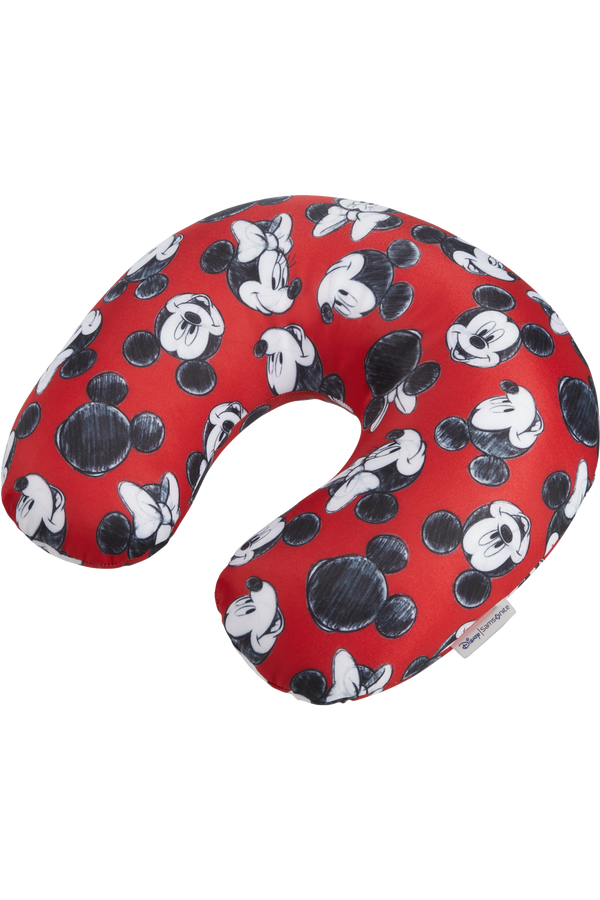 Samsonite Global Ta Disney Microbead T.Pillow Disney  Mickey/Minnie Red