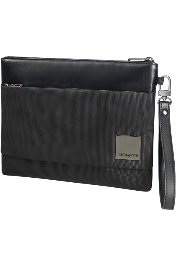 Samsonite Hip-Square Flat Tablet Clutch M 20cm/7.9inch Noir