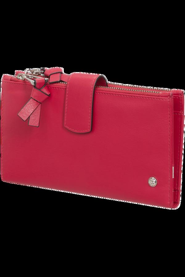 Samsonite Dame Jolie Slg 333 - L F W+DBL Zipper  Rouge cerise