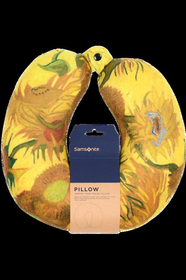 Samsonite Travel Accessories Memory Foam Pillow-S3000 Sunflowers