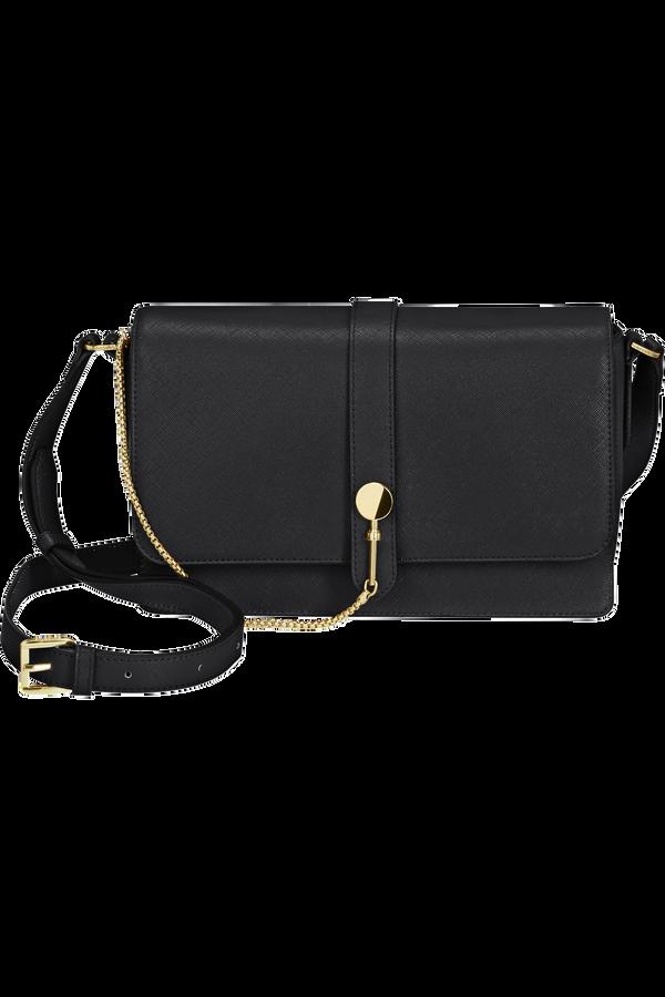 Samsonite My Samsonite Pro Shoulder Bag + Flap  Zwart