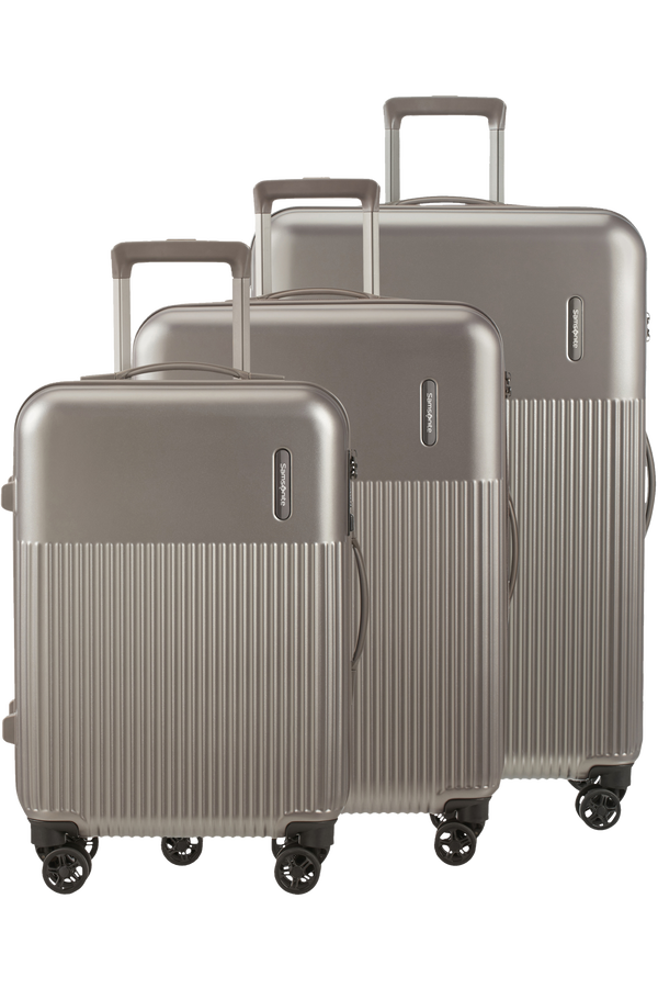 Samsonite Rectrix 3 PC SET A  Matte Grey