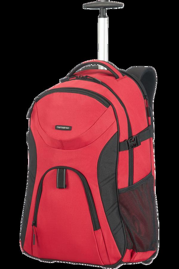 Samsonite Wanderpacks Laptop backpack/wh. Fl  RED/BLACK