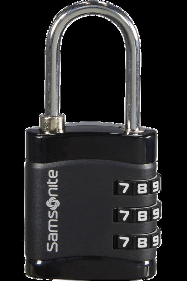 Samsonite Global Ta Combilock 3 dial light Noir