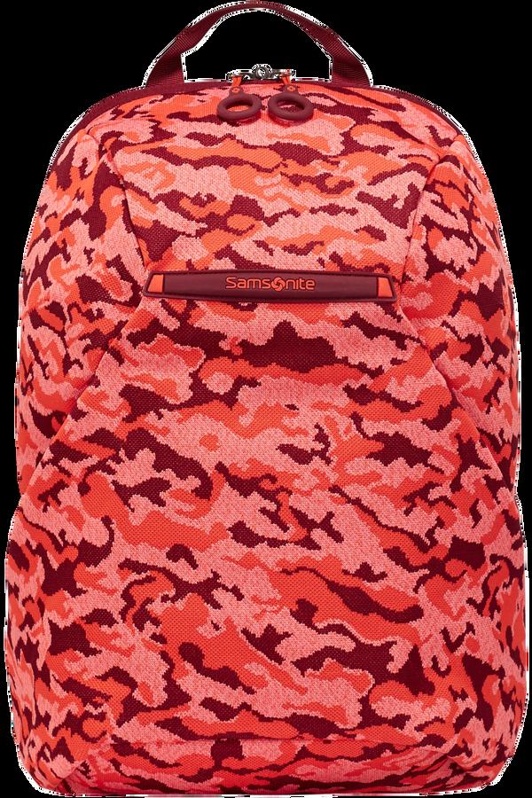 Samsonite Neoknit Laptop Backpack S  Fluo Red Camo