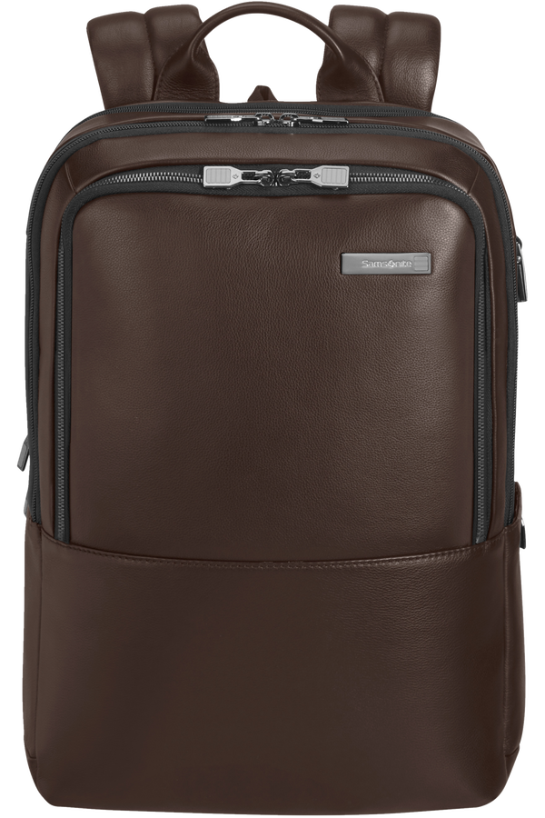 Samsonite Safton Lth Laptop Backpack 2c  15.6inch Brun