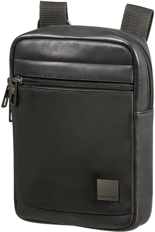 Samsonite Hip-Square Lth Crossover S  Noir