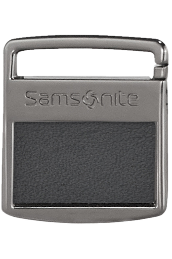 Samsonite Im T@G Metal Tag S Gunmetal Grey