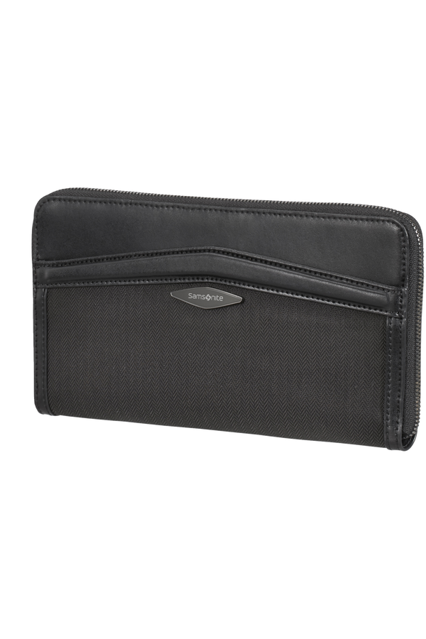 Samsonite Selar Travel Wallet  Zwart