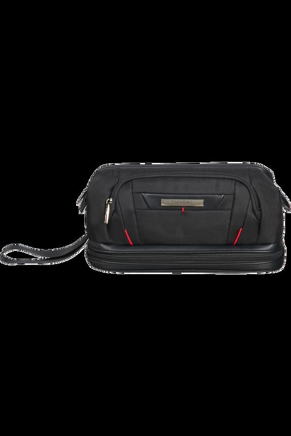 Samsonite Pro-Dlx 5 C. Cases Toiletry Bag Large Opening  Zwart