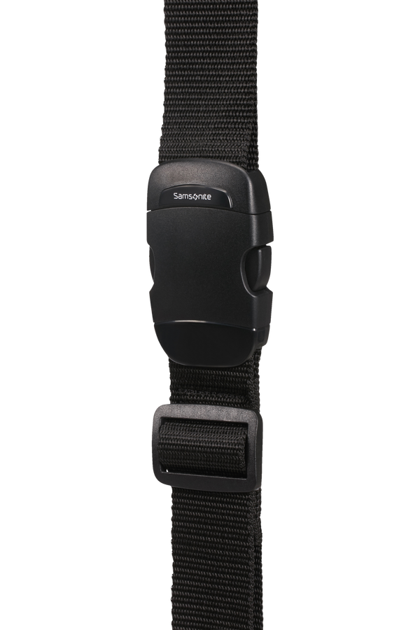Samsonite Global Ta Luggage Strap 38mm Zwart
