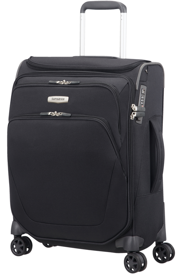 Samsonite Spark SNG Spinner Toppocket 55cm  Zwart