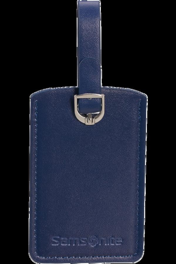 Samsonite Global Ta Rectangle Luggage Tag x2 Bleu nuit