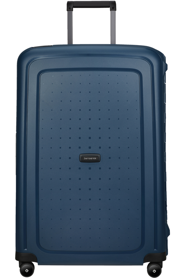 Samsonite S'cure Eco Spinner Post Consumer 75cm  Bleu marine
