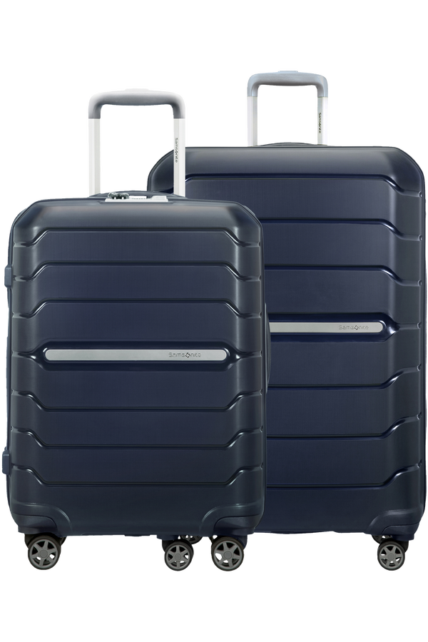 Samsonite Flux 2 PC Set A  Navy Blue