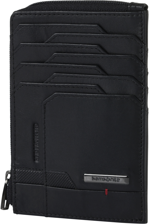 Samsonite Pro-Dlx 5 Slg 727-All in One Wallet Zip  Noir