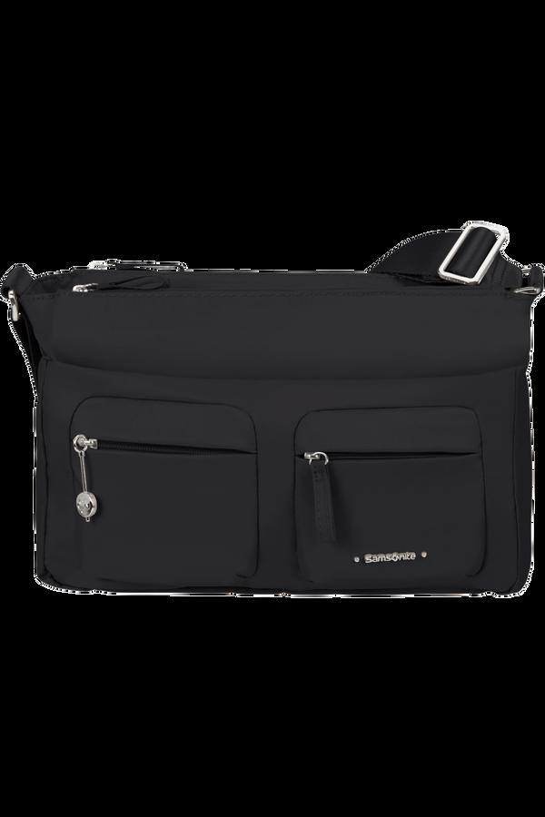 Samsonite Move 3.0 Horiz Shoulder Bag + Flap  Zwart