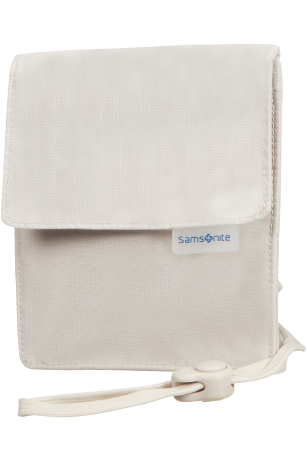 Samsonite Global Ta RFID Neck Pouch Beige