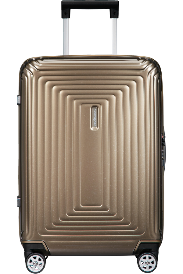 Samsonite Neopulse Spinner 55/23 cm  Metallic Zandkleurig