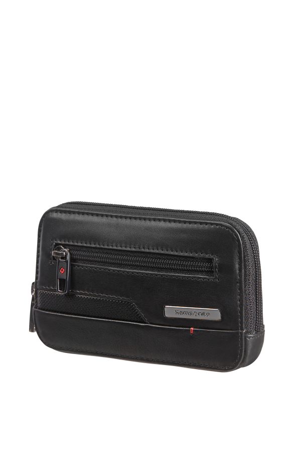 Samsonite Pro-Dlx 5 Slg 524-Z Round Key Pouch+2R  Noir