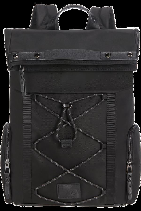 Samsonite Yourban Backpack + Flap  15.6inch Zwart