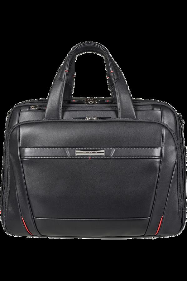 Samsonite Pro-Dlx 5 Lth Laptop Bailhandle Expandable  15.6inch Noir