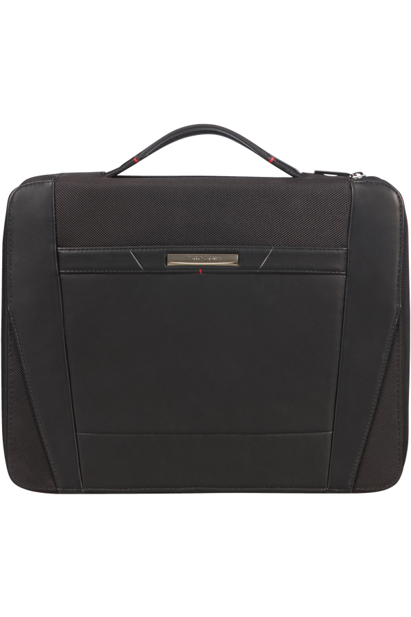 Samsonite Stationery Pro-Dlx 5 Zip Folder A4 Top H+Det B  Zwart