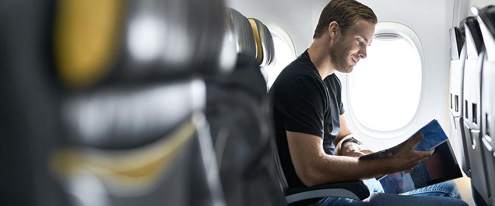 Prenez l'avion tranquillement en sachant que votre bagage enregistré est à bord.