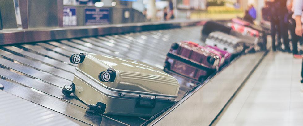 Restez zen lors de la récupération des bagages.