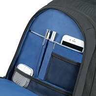 Fantastic internal organisation with several pockets and compartments to keep your belongings in place.