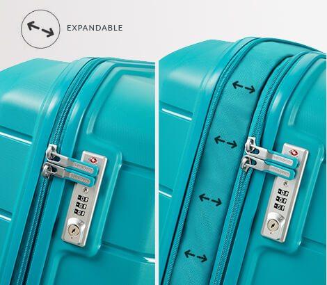 Expandable Luggage