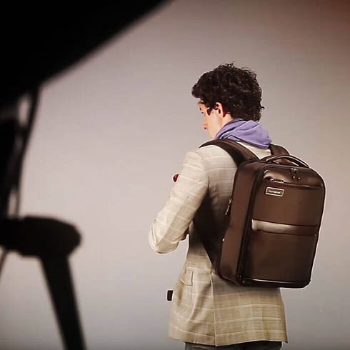Samsonite Business campaign: backstage with Giovanni Gastel