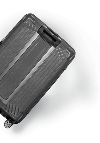 Personalise your suitcase with free laser engraving