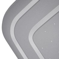 Extérieur durable et léger, 100% Polypropylène. Disponibles dans plusieurs coloris.