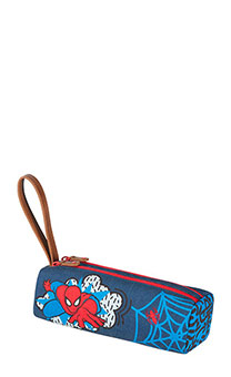Samsonite Marvel Stylies Pencil Case Junior Spiderman Pop