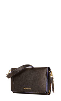 Lady Saffiano II SLG Portefeuille Warm Grey