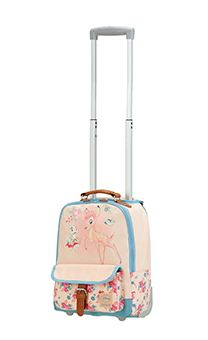 Samsonite Disney Stylies School Trolley Bambi Treasure
